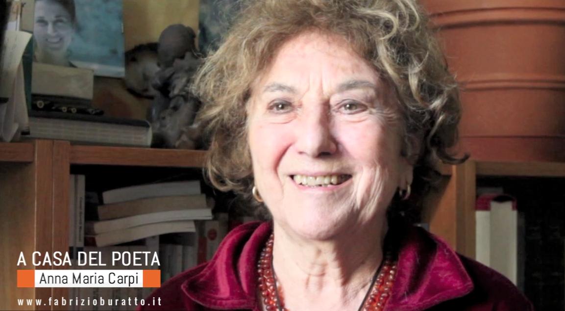 """""""A casa del poeta"""": Anna Maria Carpi"""